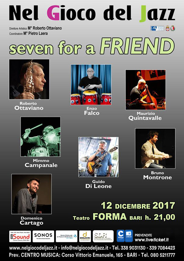 Seven for a friend al Teatro Forma di Bari
