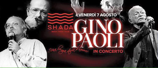 Gino Paoli in Concerto - Shada Beach a Civitanova Marche