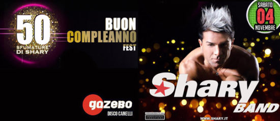 Sharyband al Gazebo a Canelli