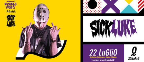 Sonntag w/ Sick Luke all'Auditorium Mediterraneo a Marina di Modica