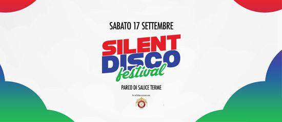 Silent Disco Festival 2016 a La Buca Parco di Salice Terme