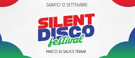 Silent Disco Festival Special al Parco di Salice Terme