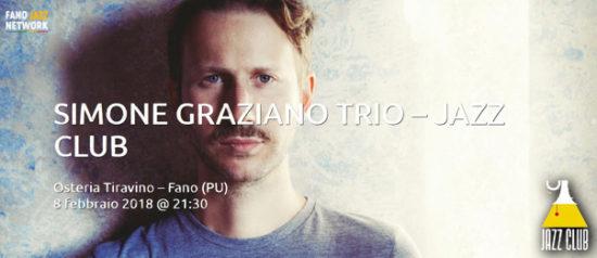Simone Graziano Trio all'Osteria Tiravino a Fano