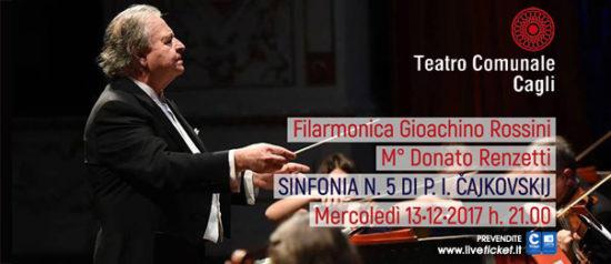 """Filarmonica Gioachino Rossini """"Sinfonia n° 5"""" al Teatro Comunale di Cagli"""