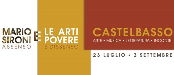 """""""Mario Sironi e le arti povere"""" a Palazzo Clemente a Castelbasso"""