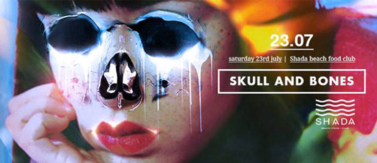 Skull and Bones allo Shada Beach Club a Civitanova Marche