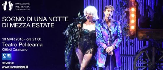 Sogno di una notte di mezza estate al Teatro Politeama di Catanzaro