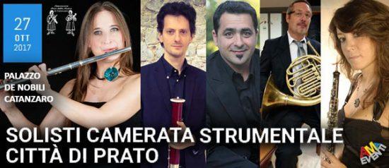 Solisti camerata musicale - Città di Prato al Palazzo De Nobili a Catanzaro