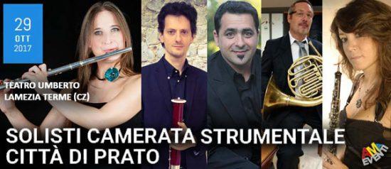 Solisti camerata musicale – Città di Prato al Teatro Umberto di Lamezia Terme
