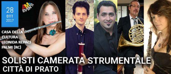 Solisti camerata musicale - Città di Prato alla Casa della Cultura di Palmi