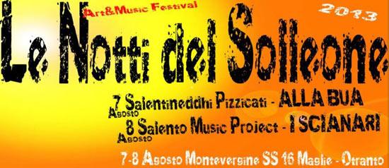 """""""Le Notti del Solleone"""" festival musicale a Palmariggi"""