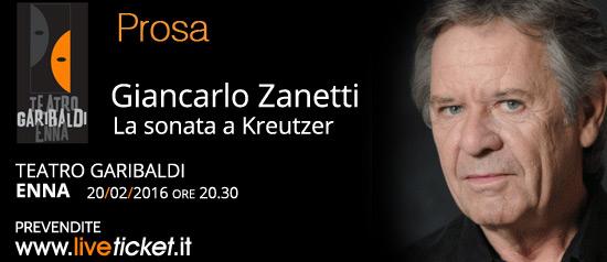 La sonata a Kreutzer al Teatro Garibaldi di Enna