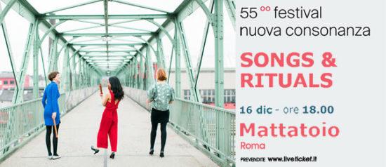 """Vivid Consort """"Songs & Rituals"""" al Mattatoio a Roma"""