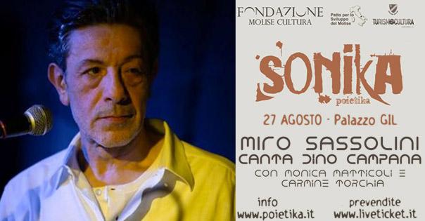 Verso l'inquieto mare notturno: Miro Sassolini
