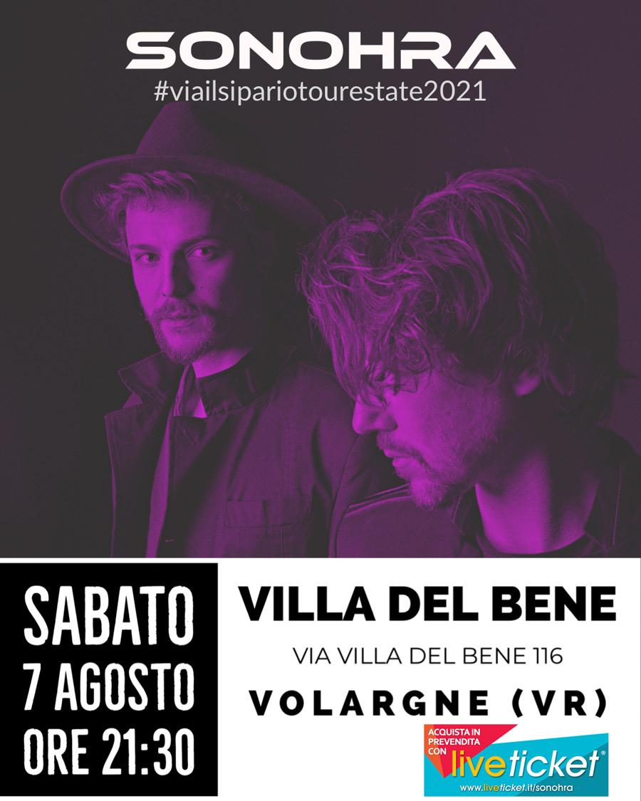 #viailsipariotourestate2021 - SONOHRA a Volargne