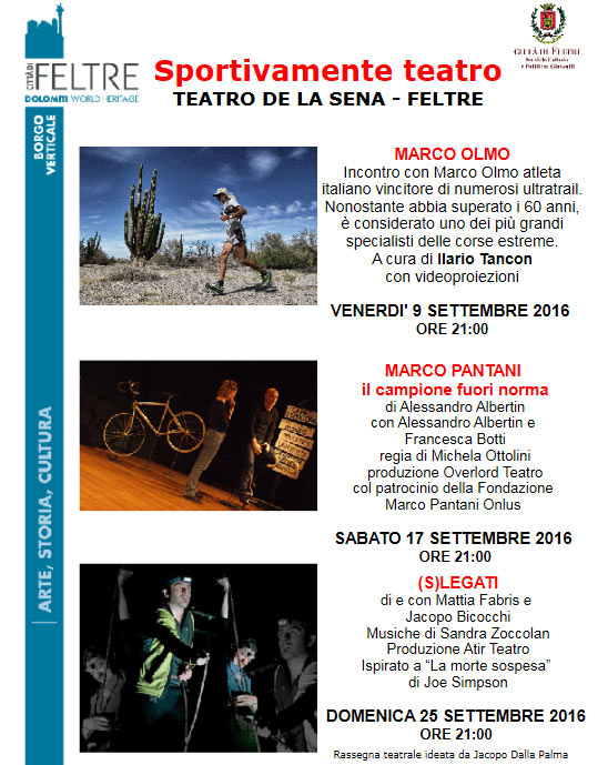 Rassegna Sportivamente Teatro - Teatro de la Sena Feltre