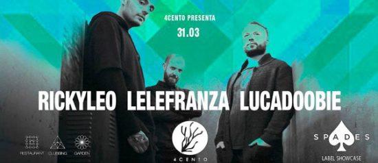 Spades Label Showcase al Ristorante 4cento di Milano