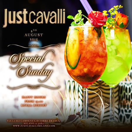 Special Sunday al Just Cavalli Club di Milano
