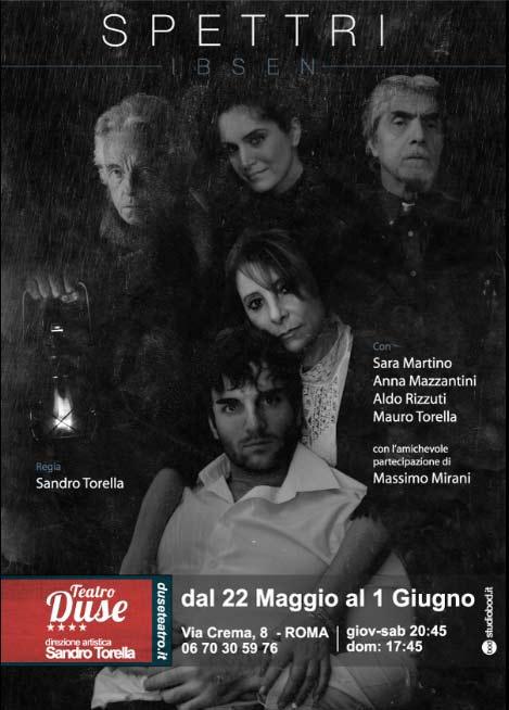 """""""Spettri"""" al Teatro Duse di Roma"""