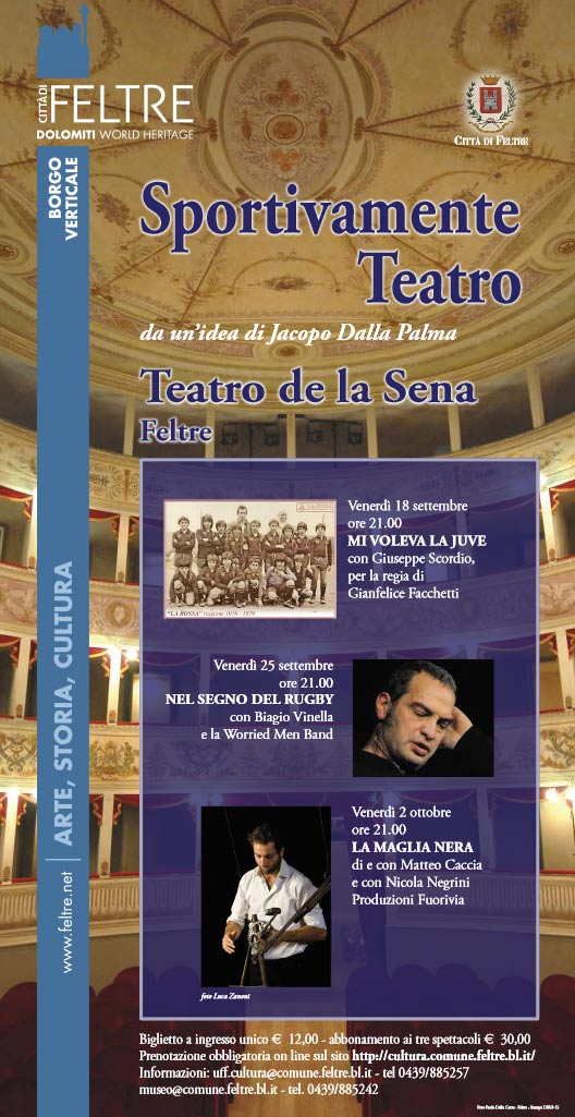 Sportivamente Teatro al Teatro de la Sena di Feltre