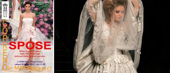 Spose - Sfilata di abiti da sposa a Copreno
