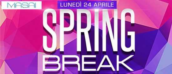 "Lanterna azzurra on tour ""Spring break"" al Masai Club Cagli"