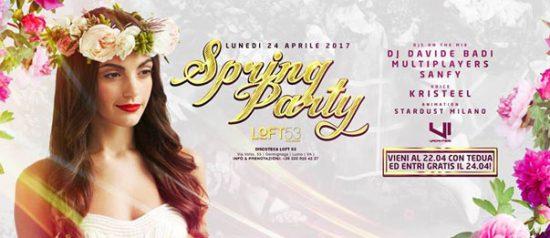 Spring Party al Loft 53 di Luino