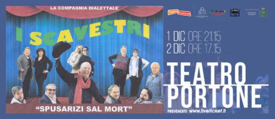 Spusarizi sa 'l mort al Teatro Portone di Senigallia