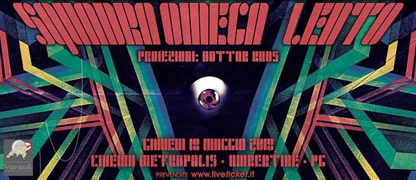 Squadra Omega + Lento in concerto al Cinema Metropolis di Umbertide