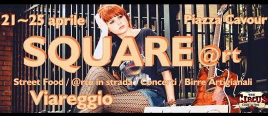 Square@rt a Piazza Cavour a Viareggio