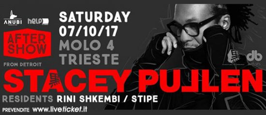 Helpiscoming after show with dj Stacey Pullen al Molo 4 Trieste