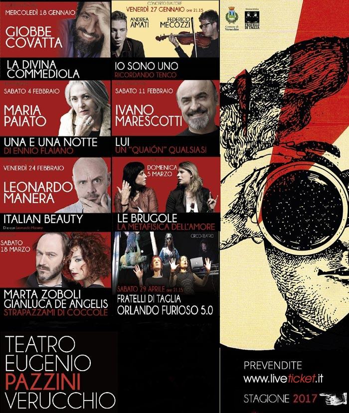 Teatro Comunale Eugenio Pazzini, Verucchio (RN)