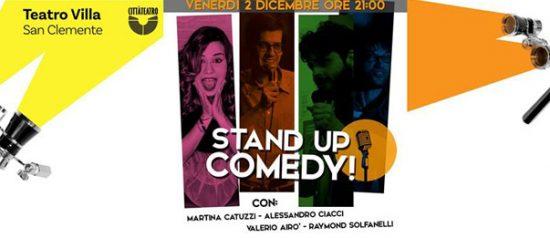 Stand Up Comedy al Teatro Giustiniano Villa di San Clemente