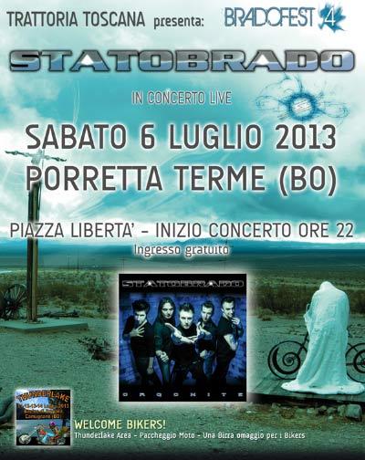 Bradofest 4 edizione a Porretta Terme