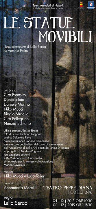 Le Statue Movibili al Teatro Don Peppe Diana di Portici