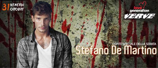 Halloween Party con Stefano De Martino @ Verve Calcinelli