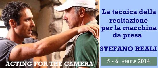 Stage con il regista Stefano Reali a Roma