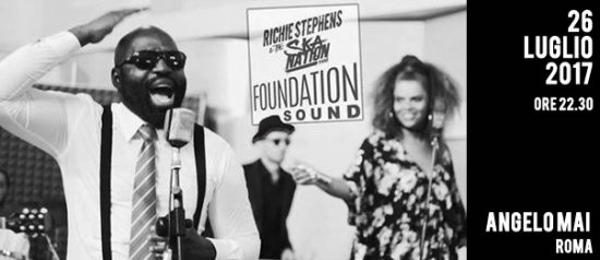 Richie Stephens & The Ska Nation Sound System Show + Cool Runnings all'Angelo Mai di Roma