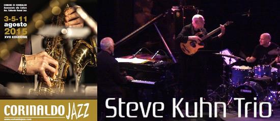 Steve Kuhn Trio al Corinaldo Jazz