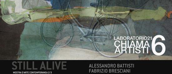 Still Alive al Laboratorio21 a Viareggio