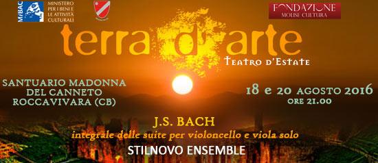 Stilnovo Ensemble a Terra d'Arte estate 2016 al Santuario Madonna del Canneto a Roccavivara