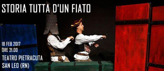 Storia tutta d'un fiato al Teatro di Pietracuta di San Leo
