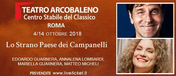 Lo Strano Paese dei Campanelli al Teatro Arcobaleno a Roma