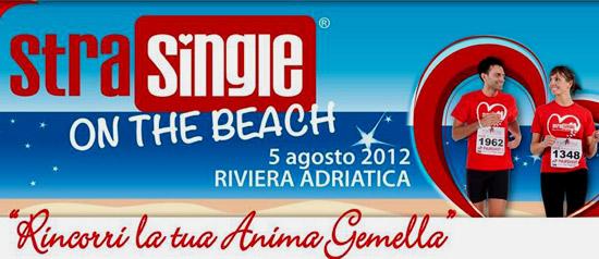 """""""StraSingle on the beach"""" sulla Spiaggia di Cesenatico"""