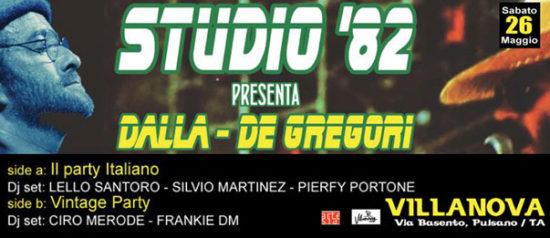 Studio'82 presentano Dalla - De Gregori al Villanova di Pulsano