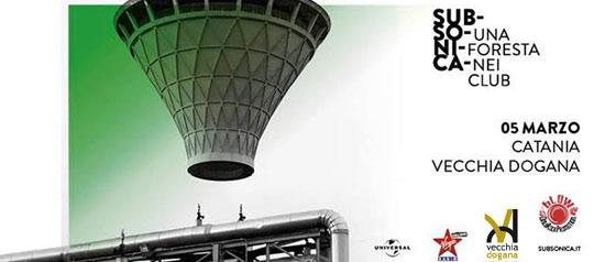 Subsonica Tour Club 2016 al Vecchia Dogana di Catania