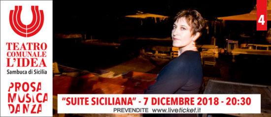 Suite siciliana al Teatro L'Idea a Sambuca di Sicilia