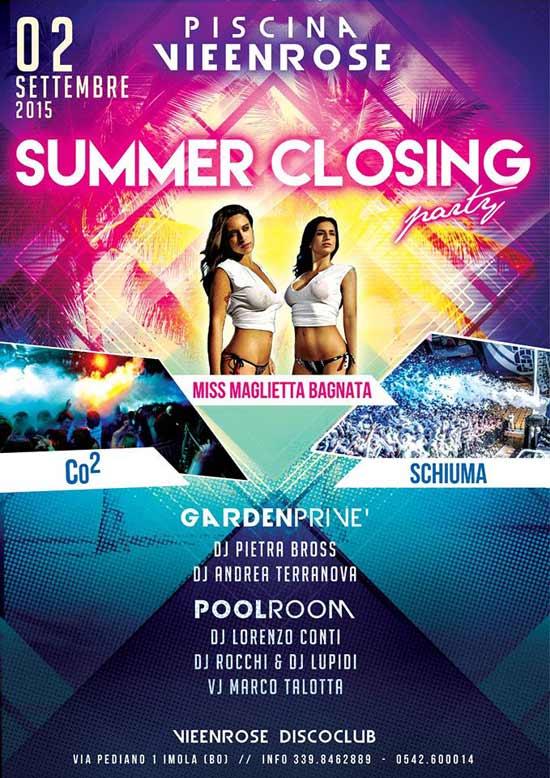 Summer Closing Party a La Vie en Rose