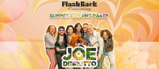 Summer closing party - Joe Dibrutto in concerto all'Hotel Monte del Re di Dozza