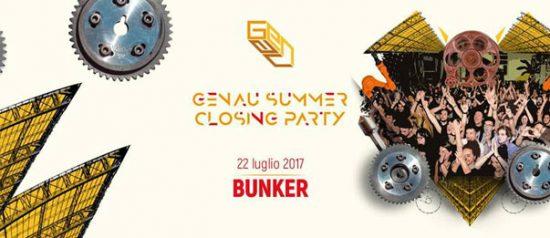 Summer Closing Party 2017 al Bunker di Torino